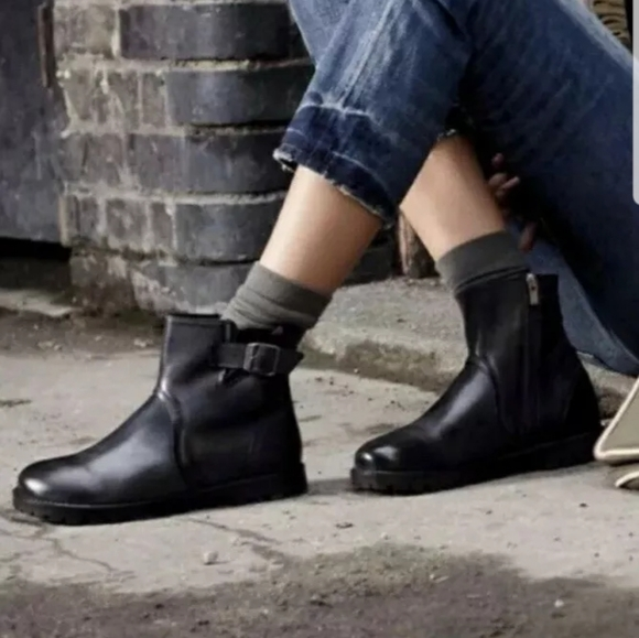 Birkenstock Boots Stowe Ankle Boots NWT